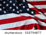 us flag | Shutterstock . vector #533754877