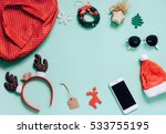 Holiday Concept   Flat Lay Of...