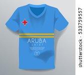 aruba shirt   national shirt...   Shutterstock .eps vector #533759557