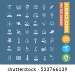 science and innovation icons... | Shutterstock .eps vector #533766139