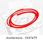 paper background with red...   Shutterstock .eps vector #5337679