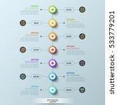 modern infographic design... | Shutterstock .eps vector #533779201