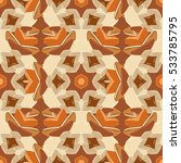 mandalas background. brown ...   Shutterstock .eps vector #533785795