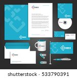 blue digital tech corporate... | Shutterstock .eps vector #533790391