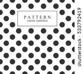 elegant dotted seamless pattern.... | Shutterstock .eps vector #533792419