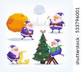 collection of cartoon vector...   Shutterstock .eps vector #533796001