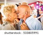 happy senior retired couple... | Shutterstock . vector #533805991