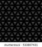 raster monochrome seamless... | Shutterstock . vector #533807431