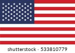 flag of united states vector... | Shutterstock .eps vector #533810779