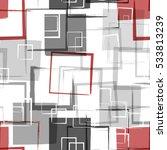 geometric modern seamless... | Shutterstock .eps vector #533813239