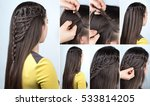 Hairstyle Braid Waterfall With...