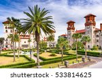 st. augustine  florida  usa... | Shutterstock . vector #533814625