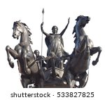 Equestrian Statue Of Boadicea...