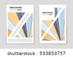 abstract vector layout... | Shutterstock .eps vector #533853757