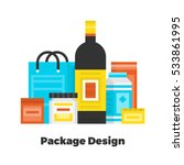 package design flat icon.... | Shutterstock .eps vector #533861995