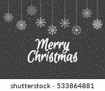 merry christmas. background... | Shutterstock .eps vector #533864881