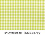 yellow and white fabric  top... | Shutterstock . vector #533865799