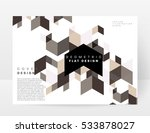 geometric background template... | Shutterstock .eps vector #533878027