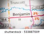 benjamin. texas. usa | Shutterstock . vector #533887009