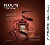 perfume for men and women. the... | Shutterstock .eps vector #533890111