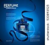 perfume for men and women. the... | Shutterstock .eps vector #533893525