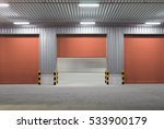 roller shutter door and... | Shutterstock . vector #533900179