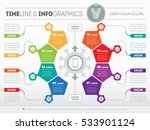 part of the report with logo... | Shutterstock .eps vector #533901124