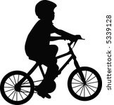 illustration of a boy and... | Shutterstock .eps vector #5339128