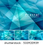 fractal abstract background.... | Shutterstock .eps vector #533920939