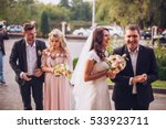 portrait of the groom  the... | Shutterstock . vector #533923711