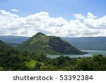 Taal Crater Lake Seen From The...