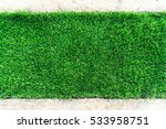 green grass on stone floor... | Shutterstock . vector #533958751