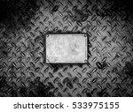 rustic old metal texture...   Shutterstock . vector #533975155