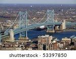 view of philadelphia's ben... | Shutterstock . vector #53397850