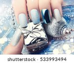 Christmas Nail Art Manicure...