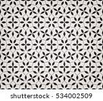 intersecting curved elegant... | Shutterstock .eps vector #534002509