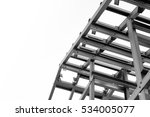 black and white photo structure ... | Shutterstock . vector #534005077