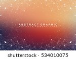 geometric graphic background... | Shutterstock .eps vector #534010075