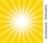 Sun Burst Background. Lights...