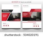 red black vector annual report... | Shutterstock .eps vector #534020191