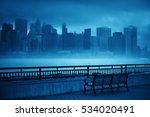 new york city downtown business ... | Shutterstock . vector #534020491
