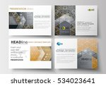 set of business templates for... | Shutterstock .eps vector #534023641