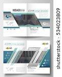 templates for brochure ... | Shutterstock .eps vector #534023809