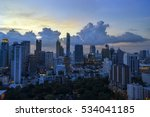 abstract cityscape with... | Shutterstock . vector #534041185