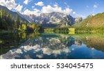 Mountain Lake In The Julian...