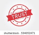 trust. stamp sign | Shutterstock .eps vector #534052471
