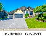 big custom made luxury house... | Shutterstock . vector #534069055