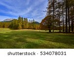 autumn in the alps  austria... | Shutterstock . vector #534078031