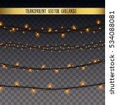 abstract creative christmas... | Shutterstock .eps vector #534088081