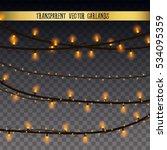 abstract creative christmas... | Shutterstock .eps vector #534095359